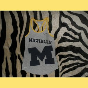Michigan Wolverines Football Tanktop sports Nike